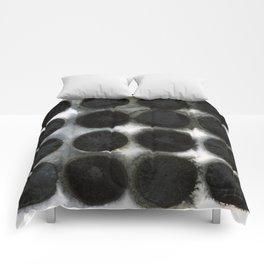 WATERCOLOUR DISCS: Black Spinel Comforters