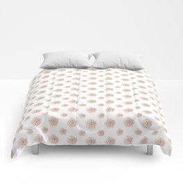 Heart succulent Comforters