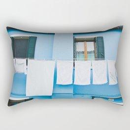 Burano in winter II Rectangular Pillow