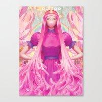artgerm Canvas Prints featuring PB by Artgerm™