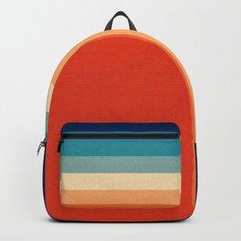 Retro 70s Color Palette III Rucksack
