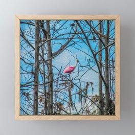The Rose in the Tree Framed Mini Art Print