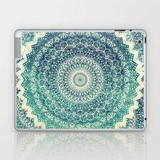 BICOLOR COLD WINTER MANDALA Laptop & iPad Skin