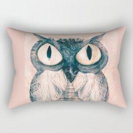 Owl number two Rectangular Pillow
