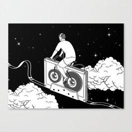 Slow Ride Canvas Print