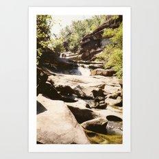 Ubon Ratchathani TH - Waterfalls I Art Print