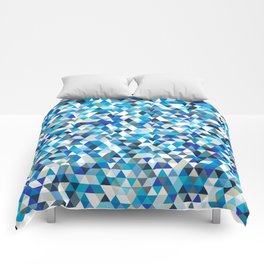 Icy triangles Comforters