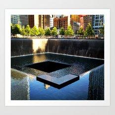 9/11 Memorial South Pool Art Print