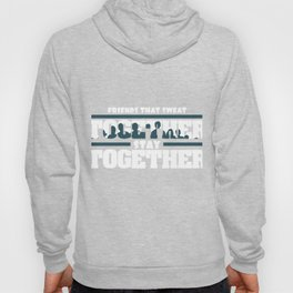 """""""Friends That Sweat Together, Stay Together"""" tee design made perfectly for gym lovers!   Hoody"""