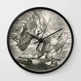 Flying Boy Wall Clock