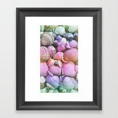 Vintage Candy Shells Framed Art Print