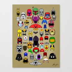 HeadGears Canvas Print