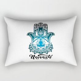 Hand of Fatima | Hamsa Khamsah Khamsa Tafust Rectangular Pillow