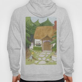 Goldilocks Comes Upon a Woodland Cottage Hoody