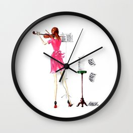 The Practice Session Wall Clock