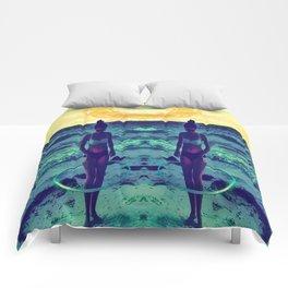 Mandala Beach Comforters
