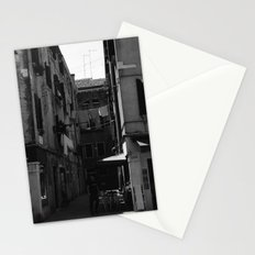 Calle Marcello b&w Stationery Cards