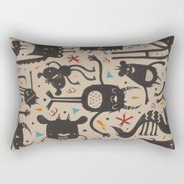 Topsy Turvy - Light Rectangular Pillow