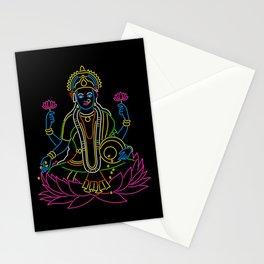 Neon Lakshmi Stationery Cards