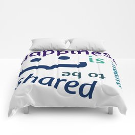 Happiness is meant to be shared! Comforters