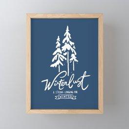 winterlust Framed Mini Art Print