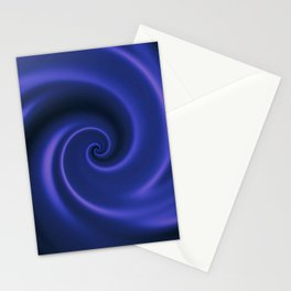 Endless revolving spiral with hypnotic effect. Stationery Cards