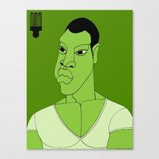 1001 Black Men--#566 Canvas Print