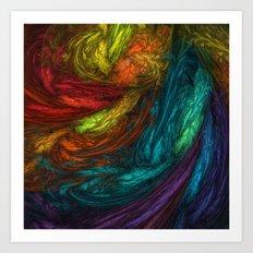 The Artist's Soupbowl Art Print