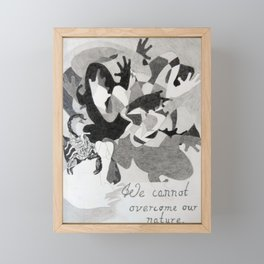 The Scorpion and The Frog Framed Mini Art Print