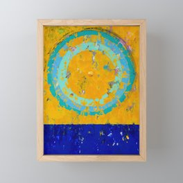 turntable #020430192200 Framed Mini Art Print