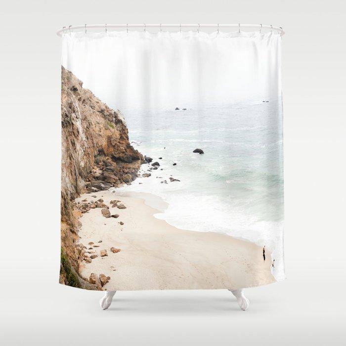 Malibu California Beach Shower Curtain