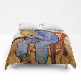 At Eternity's Gate by Vincent van Gogh Comforters