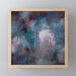 SWISH GALACTICA Framed Mini Art Print