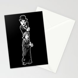 Charlie Chaplin The Kid 1921, Poster Artwork Design Stationery Cards