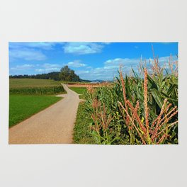 Besides the cornfields | landscape photography Rug