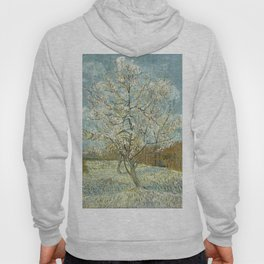 The Pink Peach Tree by Vincent van Gogh, 1888 Hoody