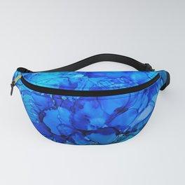 Blue Petunias Fanny Pack