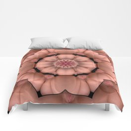 K-3930 Intimate Sexual Mandala Nude Female Enter Naked Body Closeup Vulva Abstracted Sexy Erotic Ar Comforters