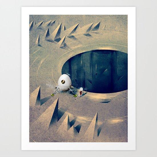 "Lunarize ""Big Hole"" Print Art Print"