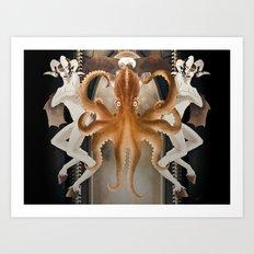 Octo-Magi Art Print