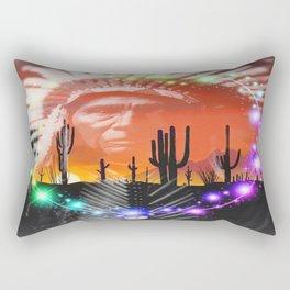 Ghost Dance Rectangular Pillow