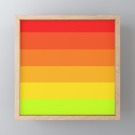 Colors of Autumn Framed Mini Art Print