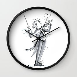 The Dismount Wall Clock