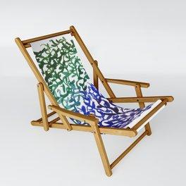 Botanical Medallion Sling Chair