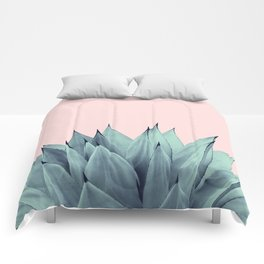 Agave Vibes #12 #tropical #decor #art #society6 Comforters