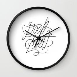 Good Stuff Wall Clock