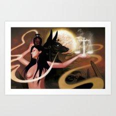 Spirit of Anubis Art Print
