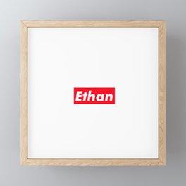 Ethan Framed Mini Art Print