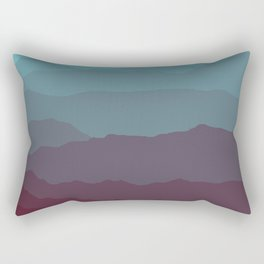 Ombré Range No. 1 Rectangular Pillow
