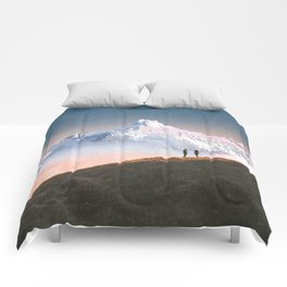 Couple on the Hill Comforters